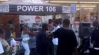 Power 106 in the streets with SOLD OUT 2013 Powerhouse tickets!