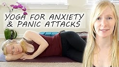 Beginners Yoga for Anxiety & Panic Attacks, Deep Relaxation, Sleep, Stress Relief, ASMR