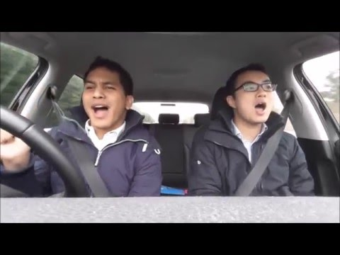 Carpool Karaoke Part 1 - Bute Revue 2016