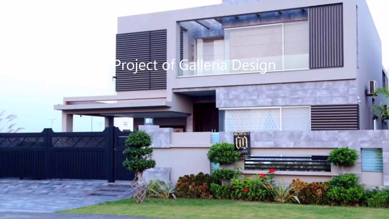 1 kanal contemporary house design 500 sq yd house youtube for Home design 500 sq yard