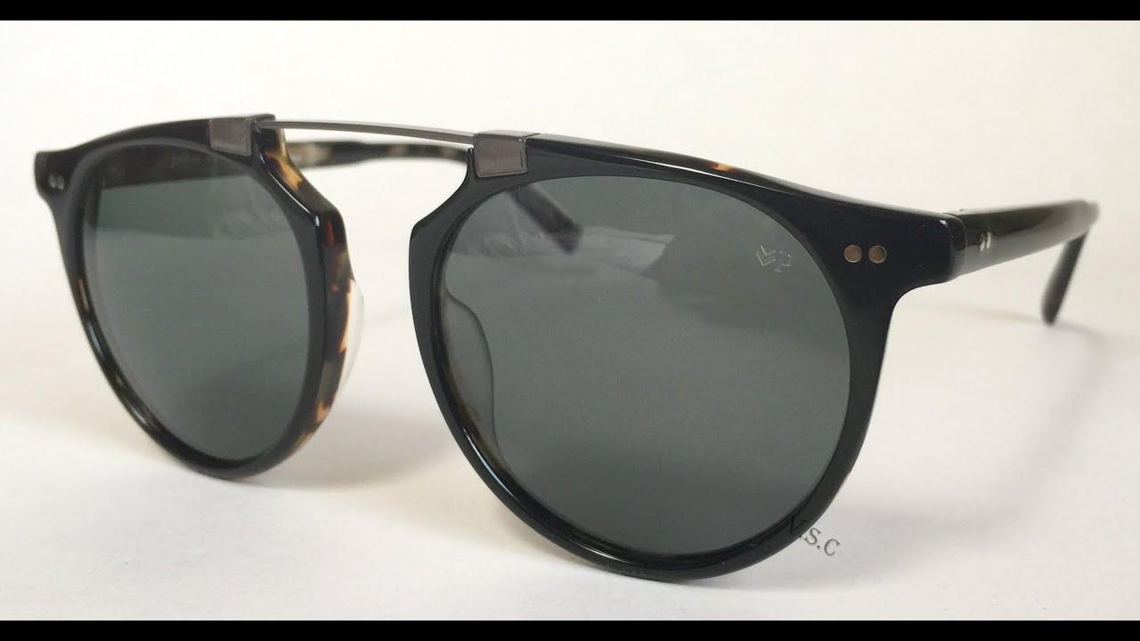 97885d3f22 John Varvatos V602 Sunglasses BLT Black - YouTube