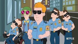 Полиция Парадайз «Paradise, P.D.» [2018] Трейлер: Сериал  [Русский Дубляж]