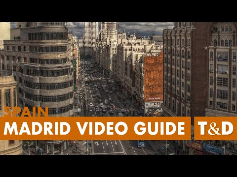 Madrid Full Tourist Video Guide - Best Place in Madrid - Tra