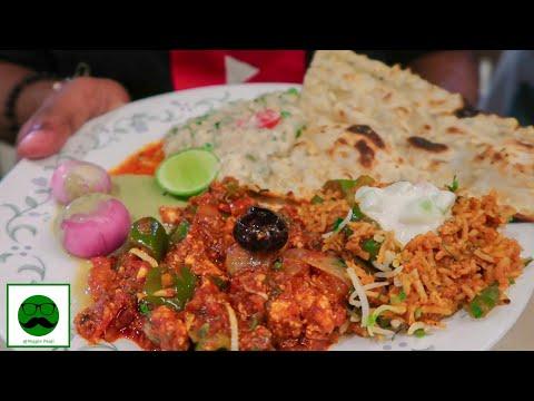 Best Pure Veg Restaurant In Mumbai Radha Krishna Andheri West|| Mumbai Food Tour Veggiepaaji