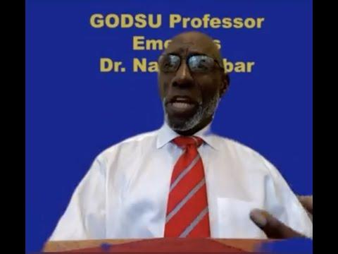 GODSU Wednesday Talk with GODSU Professor Emeritus Dr. Na'im Akbar [26 Aug 2020]