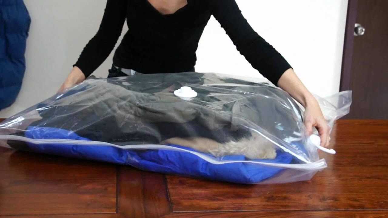 Hanging Vacuum Storage Bag By Grandscenery.com