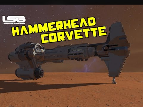 Space Engineers - Hammerhead Corvette