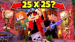 25x25? СЛОЖНЫЕ ИСПЫТАНИЯ! ДОБЕРЕМСЯ МЫ ДО КОНЦА ЖИВЫМИ? Minecraft
