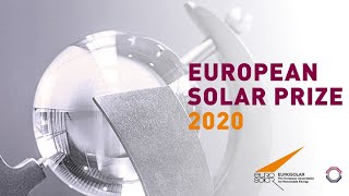 European Solar Prize 2020 - Award Ceremony