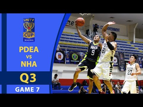 UNTV Cup 6: PDEA Drug Busters vs. NHA Builders - Q3