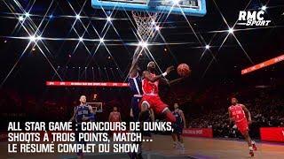 All Star Game : Concours de dunks, shoots à trois points, match… Le résumé complet du show
