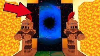 ДРЕВНИЙ ПОРТАЛ! [СЕРИЯ 4] ДЕРЕВНЯ ЖИТЕЛЕЙ В МАЙНКРАФТ! МАЙНКРАФТ СТРАШИЛКИ! - (Minecraft - Сериал)
