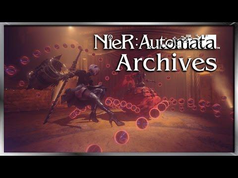 2B: Stormtrooper / Waifu / Nazi confirmed - Nier Automata Stream Archives