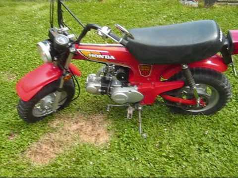 1980 honda ct 70 running youtube rh youtube com Vintage Honda Mini Bike 50Cc Used Honda Mini Bikes