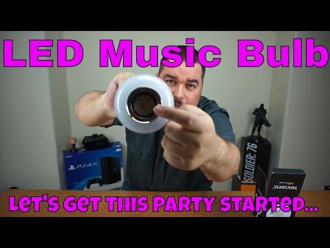 Texsens LED Music Bulb