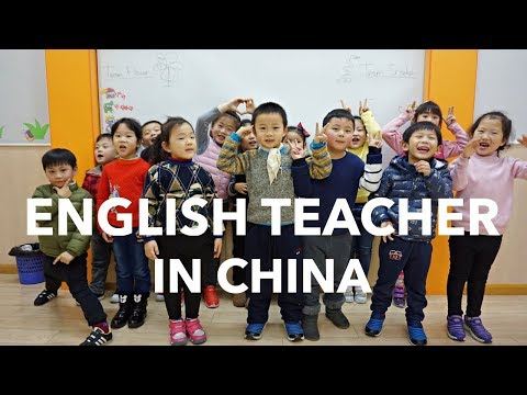 A day in the life // TEACHING ENGLISH as a foreign language in CHINA