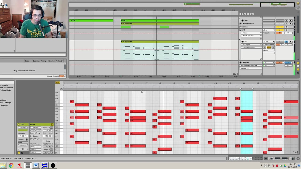 Making melodic dubstep in ableton part ii building a chord making melodic dubstep in ableton part ii building a chord progression harmonies live set included hexwebz Gallery