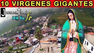 Top 10 Imágenes de La VIRGEN DE GUADALUPE Más Grandes del Mundo 🌹 Curiosidades de La Guadalupana 😇