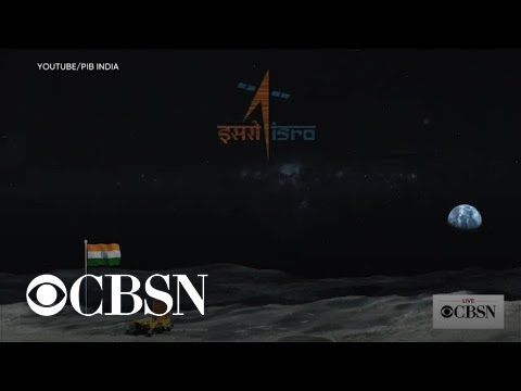 India Loses Communication During Attempted Moon Mission