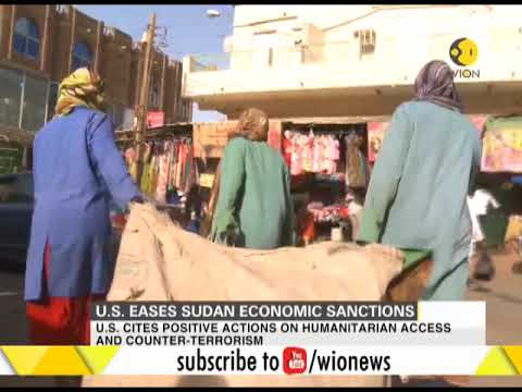 US eases Sudan economic and trade sanctions