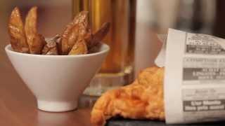 Recette Merlu façon Fish and Chips avec Pavillon France