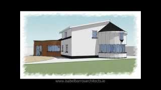 Extension to House Over 100 Years Old in New Ross, Wexford - Ireland - SketchUp Animation