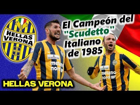 """HELLAS VERONA - El Campeón del """"Scudetto"""" Italiano de 1985 ..."""