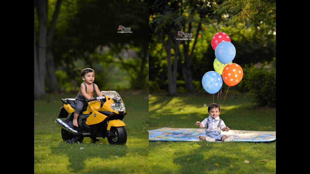 Amazing photoshoot of 1 year old baby vlog 24
