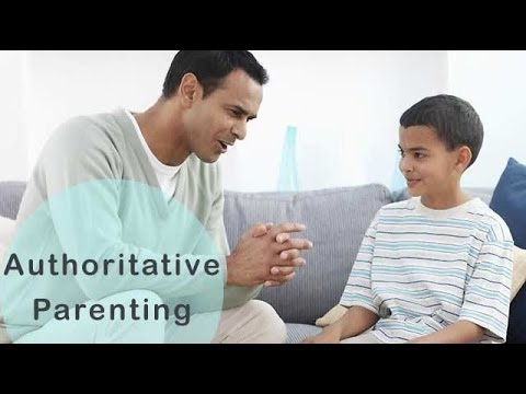 how to become an authoritative parent