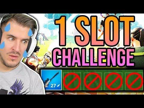 1 SLOT CHALLENGE W FORTNITE!