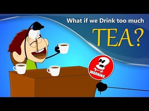 What if we Drink too much Tea? | #aumsum
