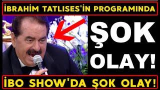 İBO SHOW'da ŞOK GELİŞME! Demet Akalın İbrahim Tatlıses İbo Show 7. Bölüm 26 Aralık 2020 son böl