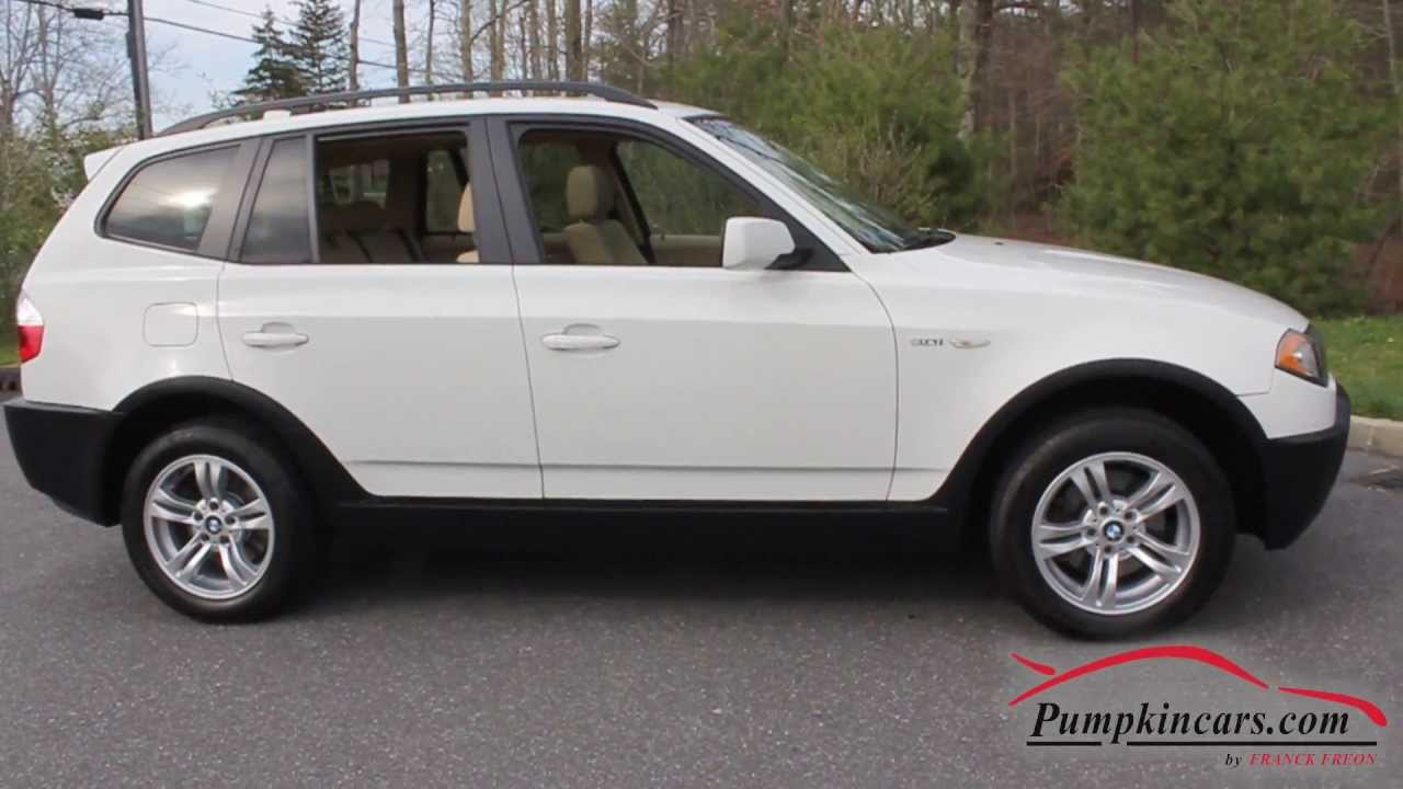 2005 bmw x3 3 0i awd 82k miles youtube. Black Bedroom Furniture Sets. Home Design Ideas