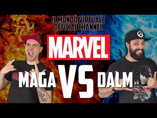 MAGA vs DALM: MARVEL - FILM & COMICS