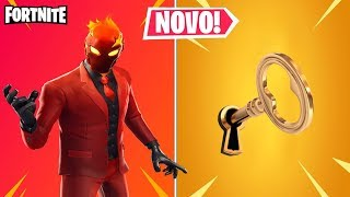 FLAME FORTNITE AND SECRET MASTER KEY? PATCH 8.2