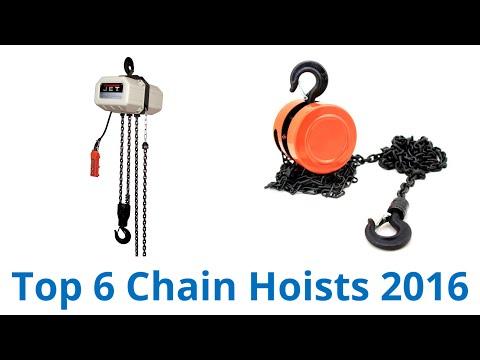 6 Best Chain Hoists 2016
