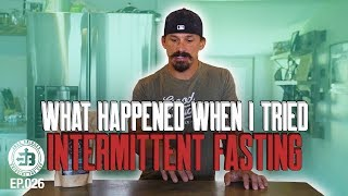i tried intermittent fasting heres what happened bridging the gap ep026
