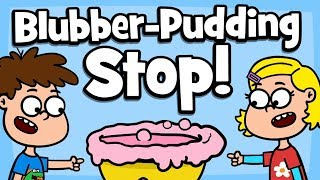♪ ♪ Kinderlied Familie - Blubber-Pudding Stop! - Hurra Kinderlieder