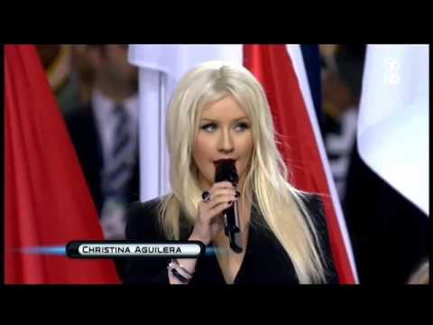 Beyonce vs Christina Aguilera, Fantasia, Yolanda Adams, Jennifer Hudson - NATIONAL ANTHEM