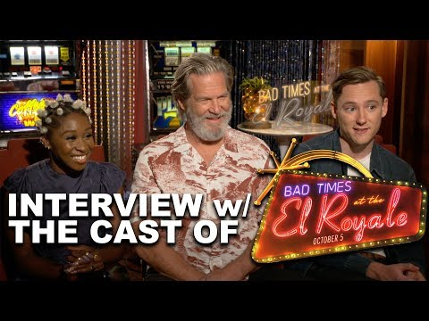 BAD TIMES AT THE EL ROYALE Cast Interviews!
