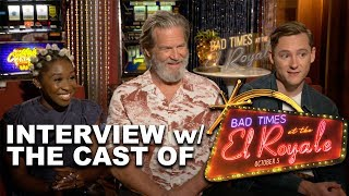 """""""BAD TIMES AT THE EL ROYALE"""" Cast Interviews!"""