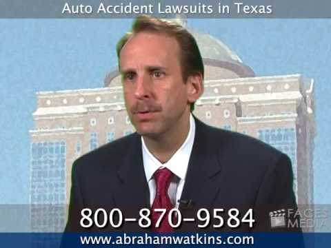 Texas Attorneys - Auto Accident Lawsuits