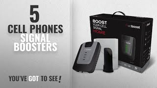 Cell Phones Signal Boosters [2018 Best Sellers]: weBoost Home 4G 470101 Cell Phone Signal Booster