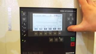 Пример работы винтового компрессора - настройка SAM(Управление винтовым компрессором с помощью SAM - Sigma Air Manager. Купить Kaeser - поставщик tehmir.com., 2014-03-27T14:38:32.000Z)