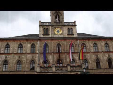 """Germany Vlog. Part 4. Weimer.Die Schule """"Gymnasium am Sandberg"""". Dresden."""