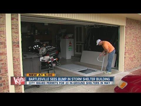 Storm Shelter Build Boom