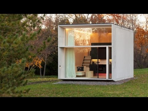 koda house the prefabricated tiny house by kodasema youtube. Black Bedroom Furniture Sets. Home Design Ideas