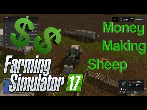 Farming Simulator 17 - Sheep Money Making Tutorial
