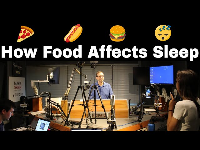 How Food Affects Sleep