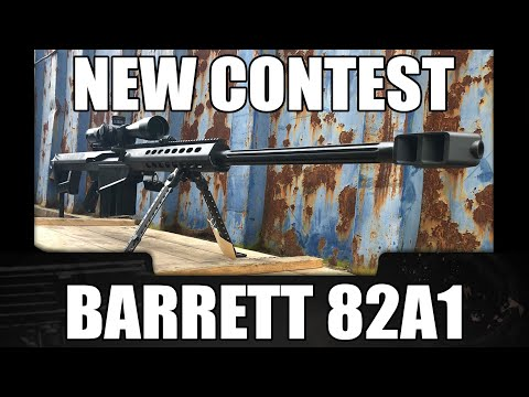 [CONTEST] Yet Another Barrett Giveaway Starts Now! - NRA Special